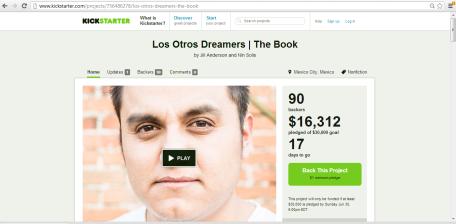 Los Otros Dreamers Kickstarter Campaign