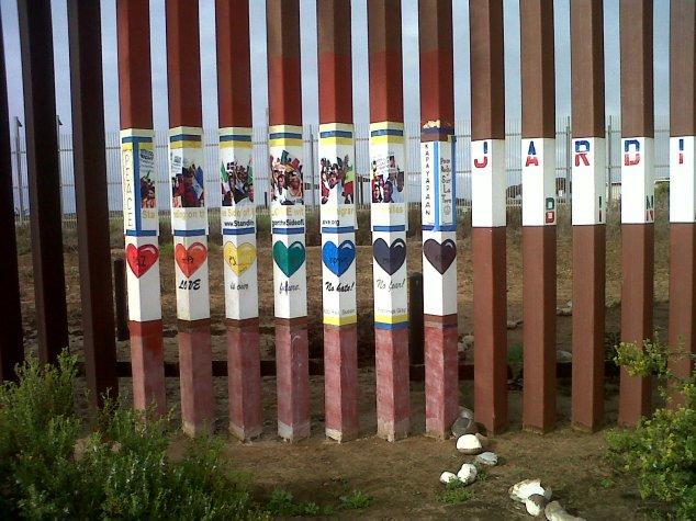 View of the U.S. from Tijuana/San Ysidro Border