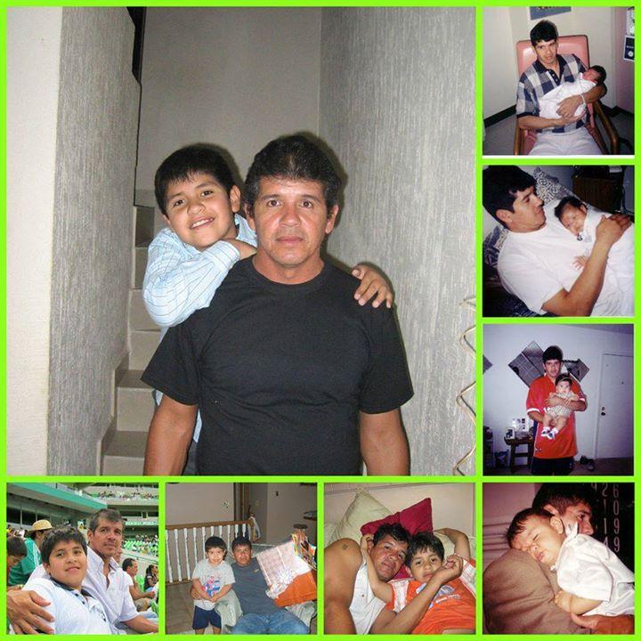 Yamil and his dad