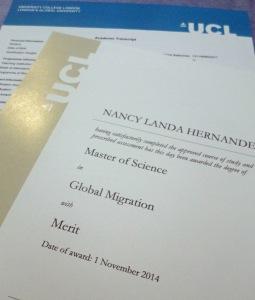 UCL Diploma